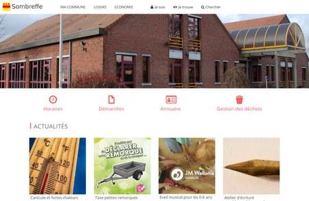 Bienvenue sur le nouveau site Internet communal !