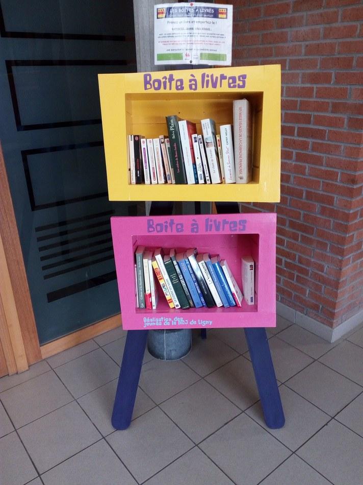 boîte à livres Sombreffe
