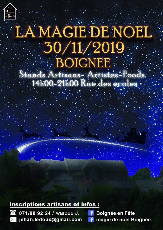 Affiche Magie 30.11.2019