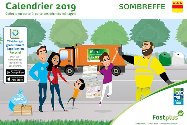 Couverture calendrier BEP 2019
