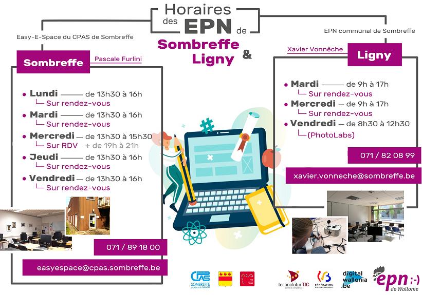 Horaire EPN Ligny au 3.02.2021